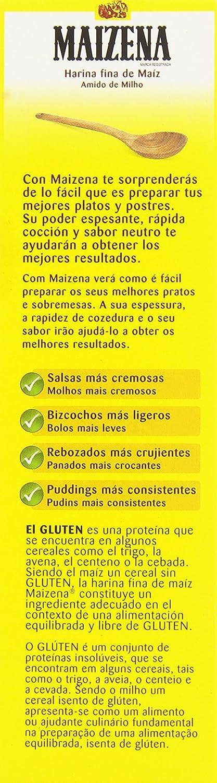 Maizena Harina Fina de Maíz, 400g: Amazon.es: Alimentación y ...