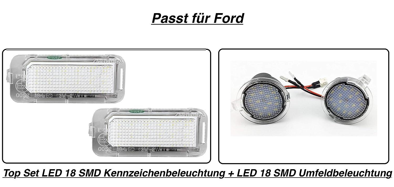 7909 LED Umfeldbeleuchtung LED Kennzeichenbeleuchtung Ford Galaxy ab 2015