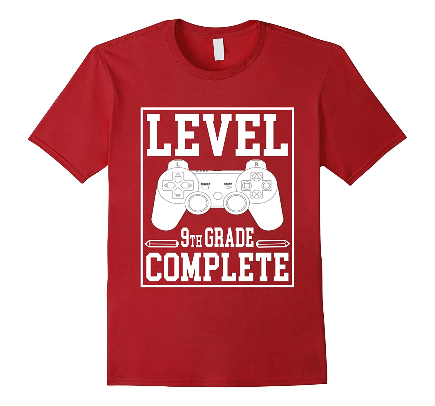 Level 9th Grade Complete T-Shirt for Boys and Girls-Art