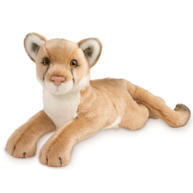 Amazon Com Douglas Cuddle Toys Kelso The Mountain Lion Plush
