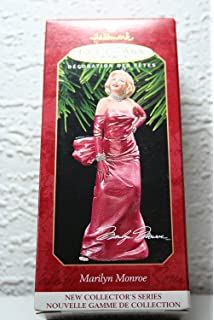 Amazon.com: Marilyn Monroe Christmas Ornament White Dress Style by ...