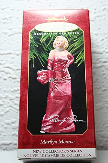 1 X Hallmark Keepsake Ornament Marilyn Monroe 1st New Collector's Series  1997 - Amazon.com: 1 X Hallmark Keepsake Ornament Marilyn Monroe 1st New