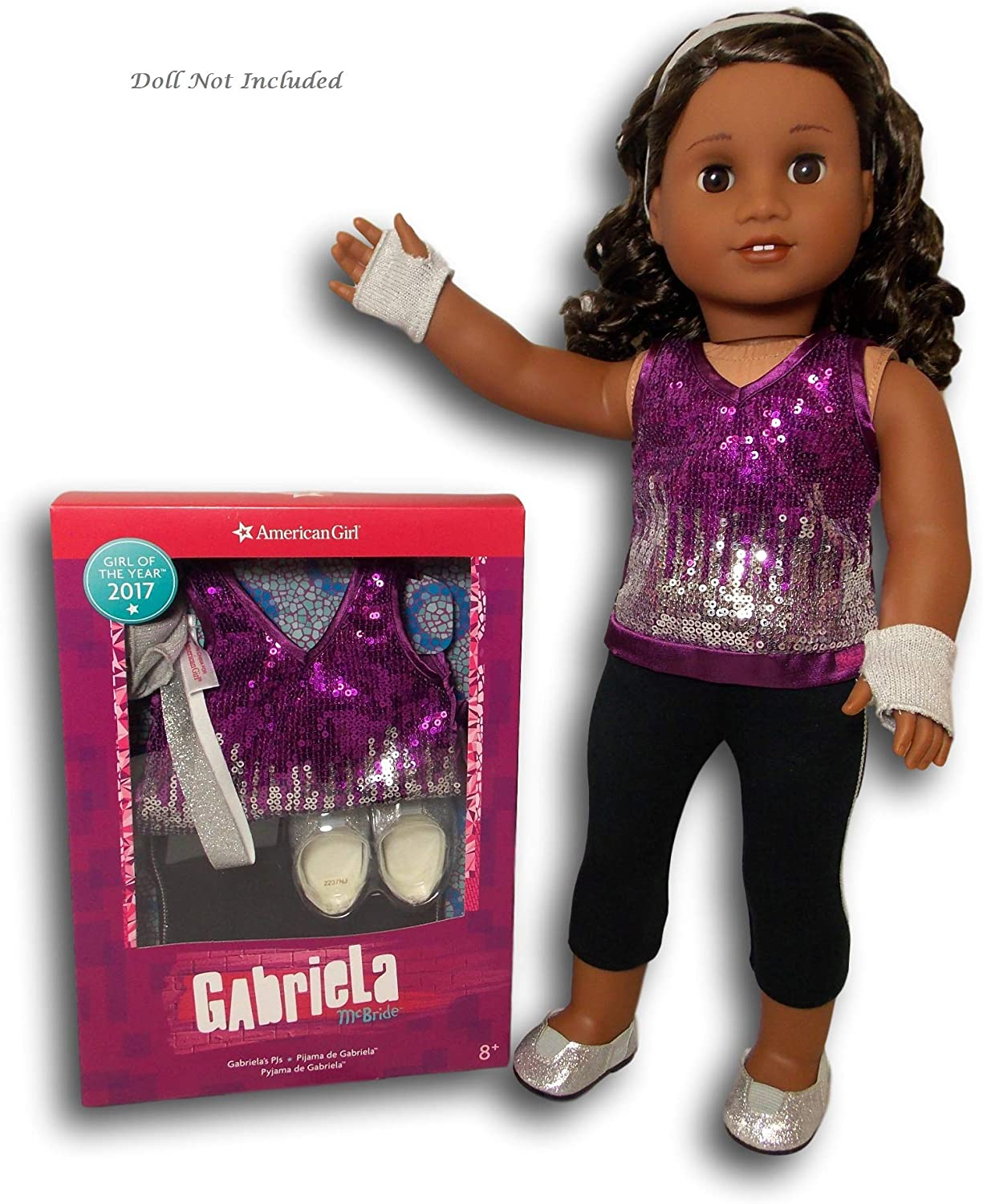 American Girl - Gabriela McBride - Gabriela's Sparkling Sequins Outfit for 18-inch Dolls of 2017