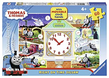 Ravensburger Thomas & Friends Clock Puzzle, 60pc Jigsaw Puzzle