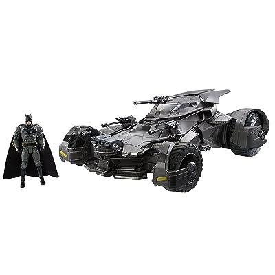 Justice League Ultimate Justice League Batmobile Vehicle + Figure: Toys & Games