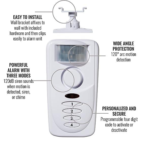 Sabre Home Protection HS-MSA - Alarma de detección de ...