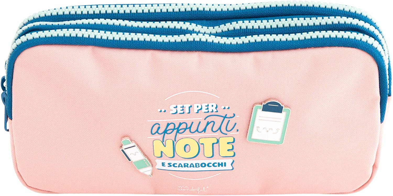 Estuche triple para notas, notas y garabatos: Amazon.es: Oficina y papelería