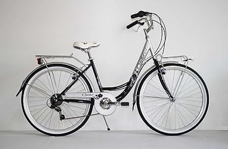 Nuova Bici Bicicletta 26 Classica Donna Olanda City Bike 6 Velocita Shimano