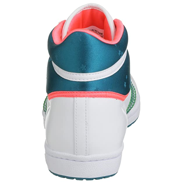 adidas Top Ten Hi Sleek shoes whitetealneo