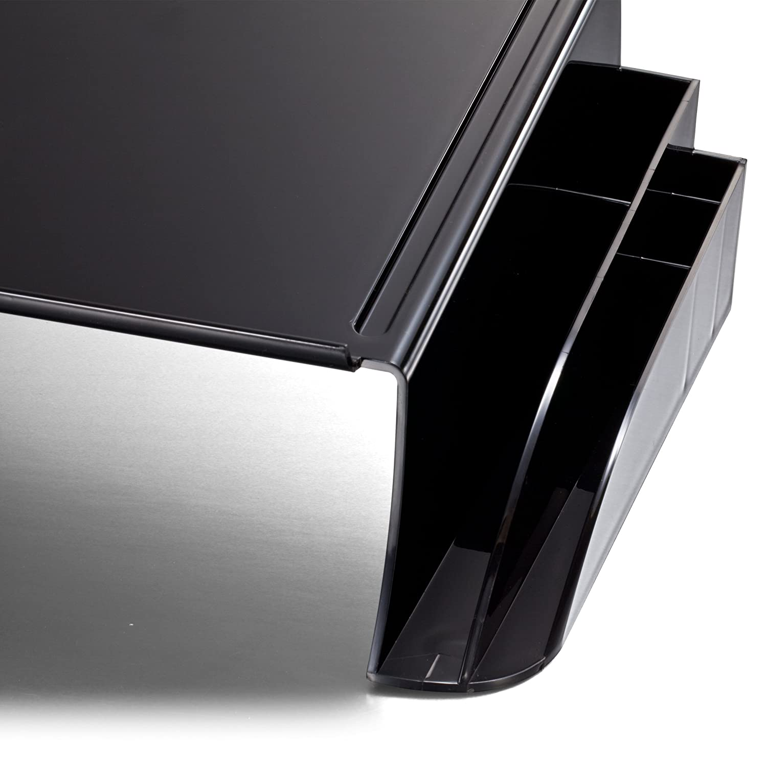 Officemate Telephone Stand Black 21522 12.5 x 10 .125 x 5.25 Inches