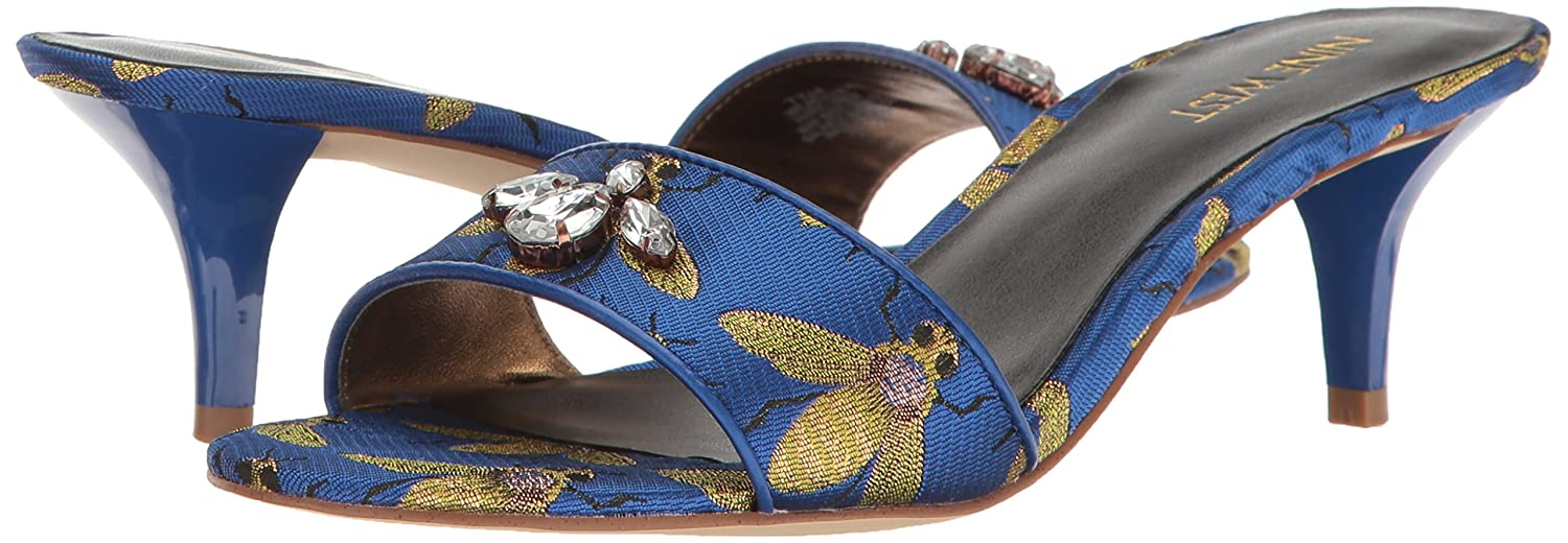 Nine West Frauen Clogs Blau Groesse Groesse Groesse 7.5 US  38.5 EU df38a4