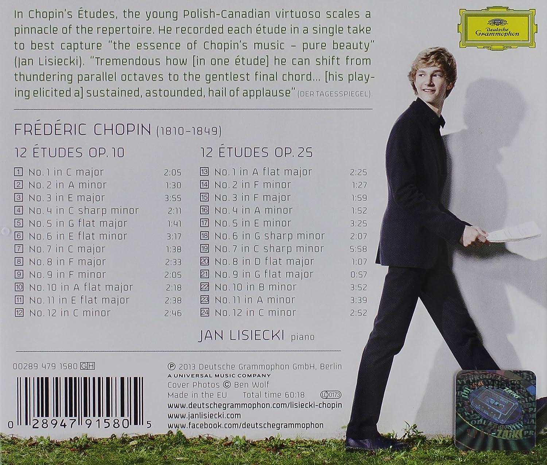Chopin Etudes Jan Lisiecki Amazon Music