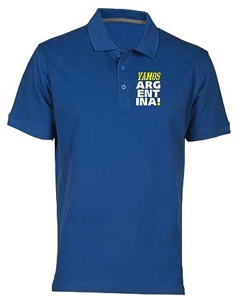 T-Shirtshock Polo por Hombre Azul Royal WC0014 Argentina: Amazon ...