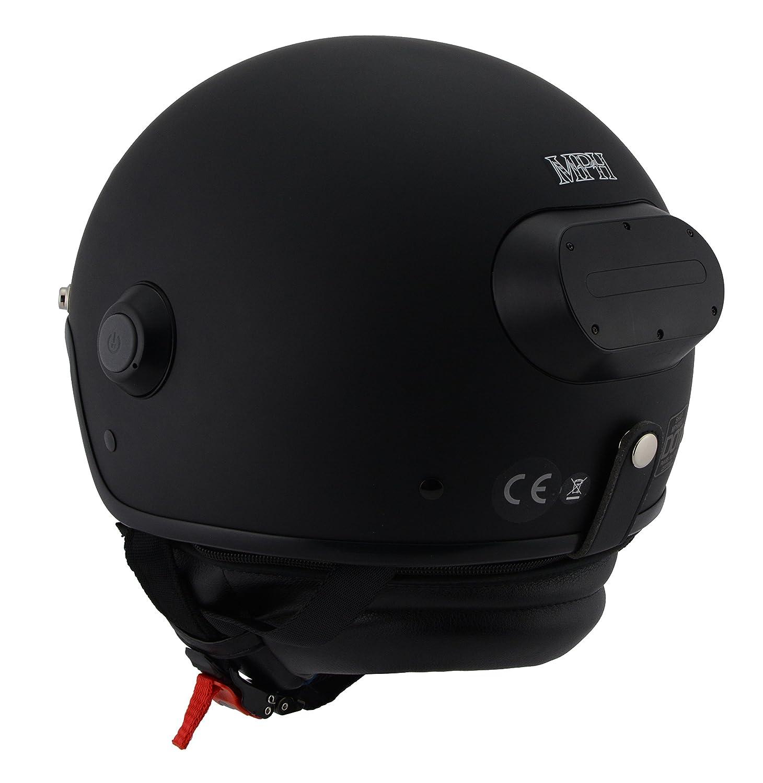 Amazon.com: Milwaukee Performance Helmets Unisex-Adult Open face Vision  Helmet (with Video Camera) (Matte Black, X-Large): Automotive
