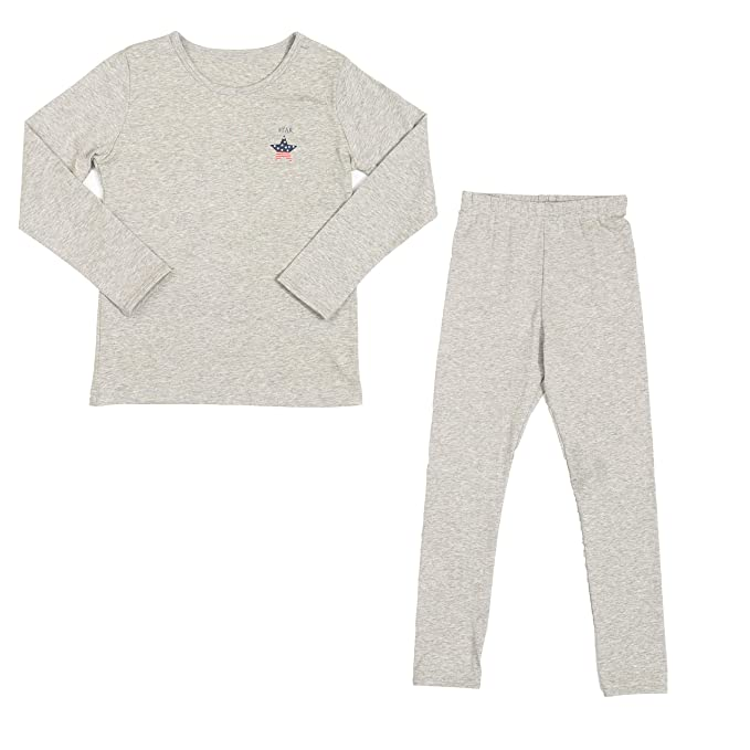a229ebc08 Image Unavailable. Image not available for. Color: 2PCS/ Set Kids Boys  Thermal Underwear ...