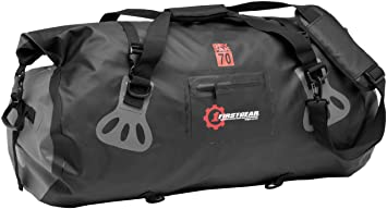 Firstgear Torrent Waterproof Duffel Bag 70L USA-FG-003-70  Amazon ... 939603da7ca59