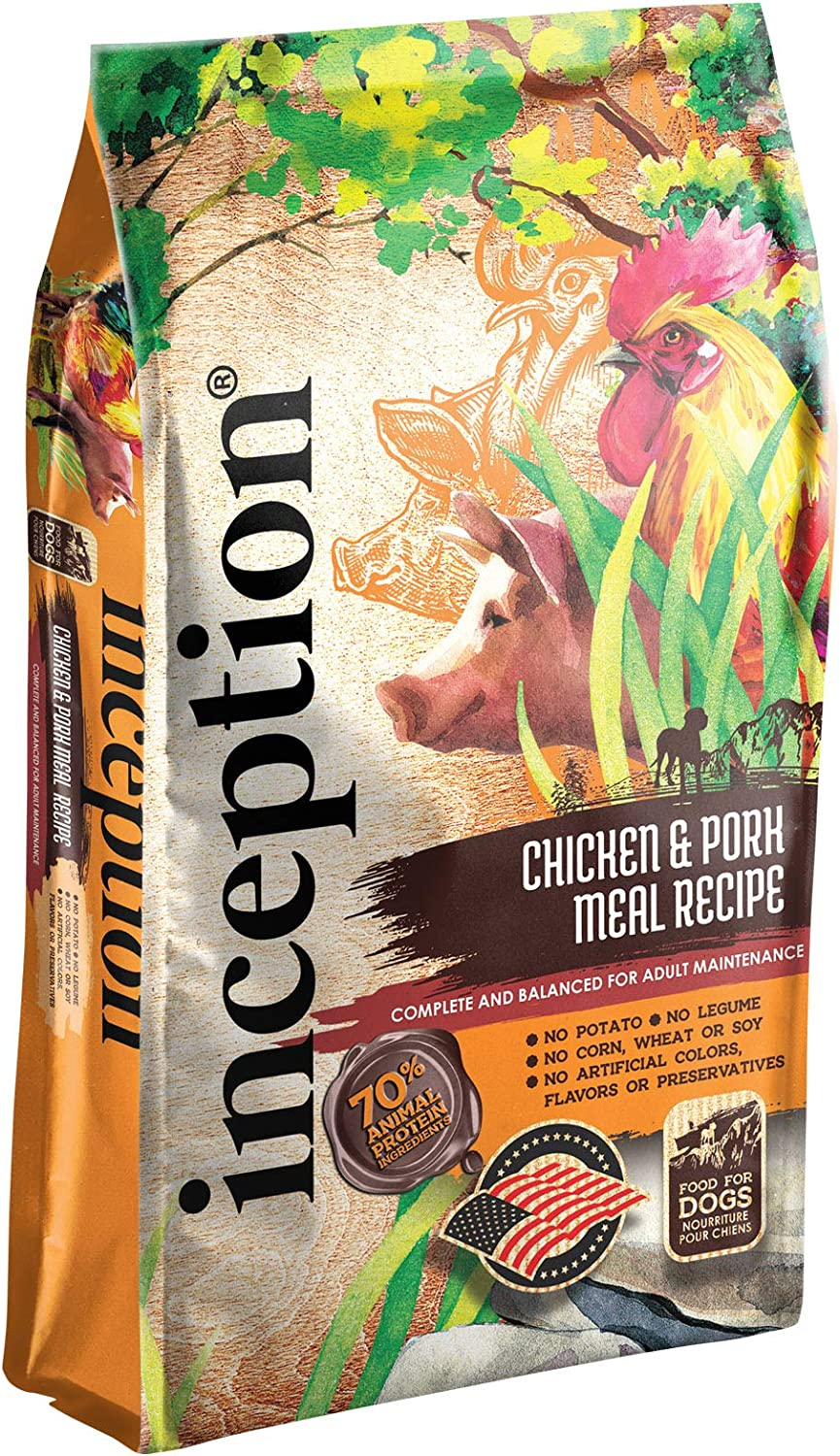 Inception Dry Dog Food – Complete and Balanced Dog Food – Meat First Legume Free Dry Dog Food