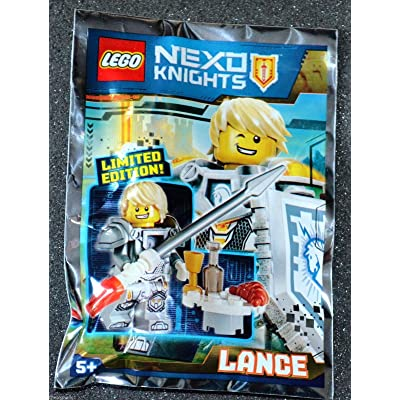 LEGO Nexo Knights Limited Edition Minifigure - Lance (Foil Pack 271601): Toys & Games
