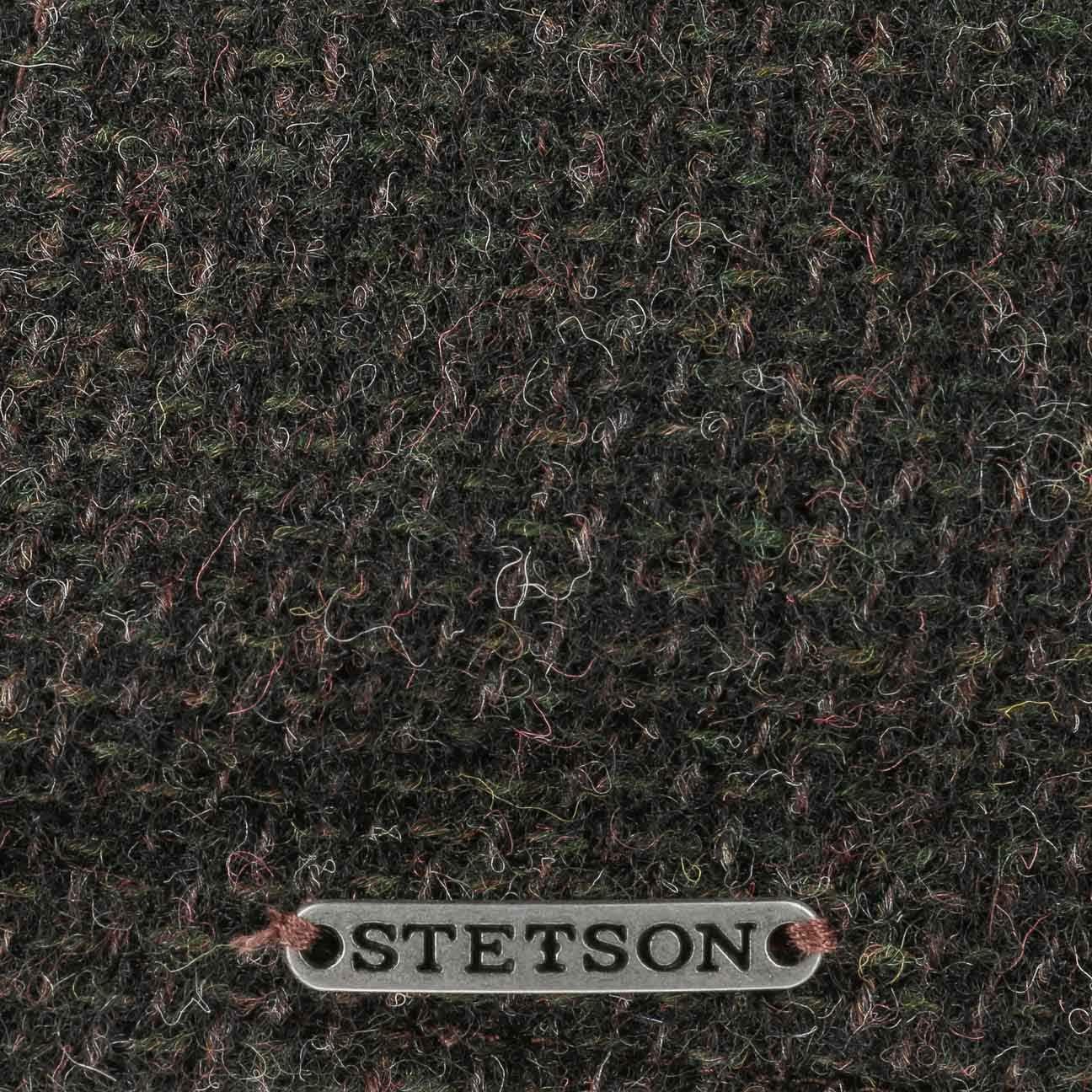 Fodera Autunno//Inverno Stetson Coppola Texas Classic Wool Uomo Made in The EU Cappello Invernale Berretto Piatto Cappellino Lana con Visiera