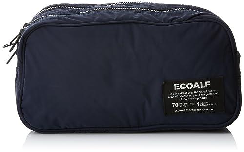 ECOALF New Wash Bag Man, Mochila Unisex Adulto, Azul (Deep Navy) 12x13x25