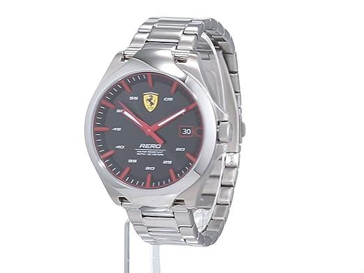 Armband Analog Ferrari Uhr Edelstahl Unisex Quarz Mit Scuderia iwOkXuTZP