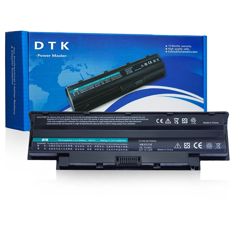DTK New Laptop Battery for Dell Inspiron 3420 3520 N5110 N5010 N4110 N4010 N5040 N5050 N7110 N3010 M5110 M4110 M501 M503, Fits P/n J1knd 4t7jn [6-Cell 5200mah/49wh]