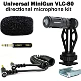 MiniGun Directional Video Microphone DREAMGRIP VLC-80, fine-Tuned for 1-3ft. Distance Voice Capture with iPhone and…
