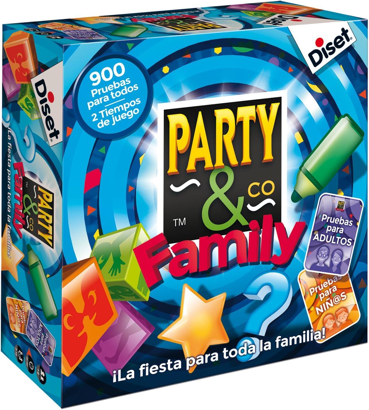 Diset- Juego Party & Co Family (10118): Amazon.es: Juguetes y juegos