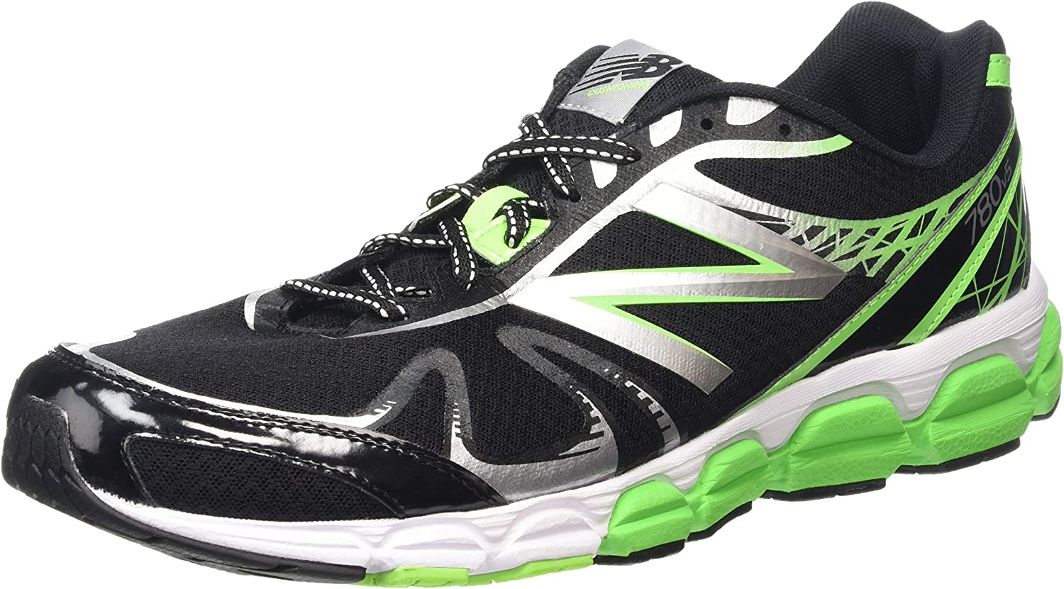 New Balance M780BB5 - Zapatillas de running para hombre, BLACK/GREEN (004), EU 45.5: Amazon.es: Zapatos y complementos