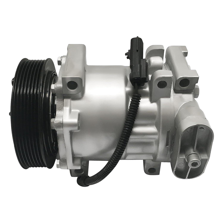 RYC Remanufactured AC Compressor and A/C Clutch EG553