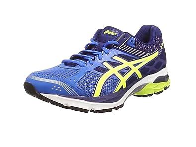 ASICS Gel-Pulse 7 - Zapatillas de running para hombre, color azul (electric blue/flash yellow/ind 3907), talla 40.5