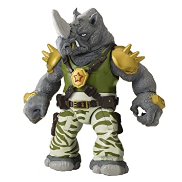 Tortugas Ninja - Rocksteady Figura de acción: Amazon.es ...