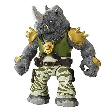 Tortugas Ninja - Rocksteady Figura de acción: Amazon.es ...