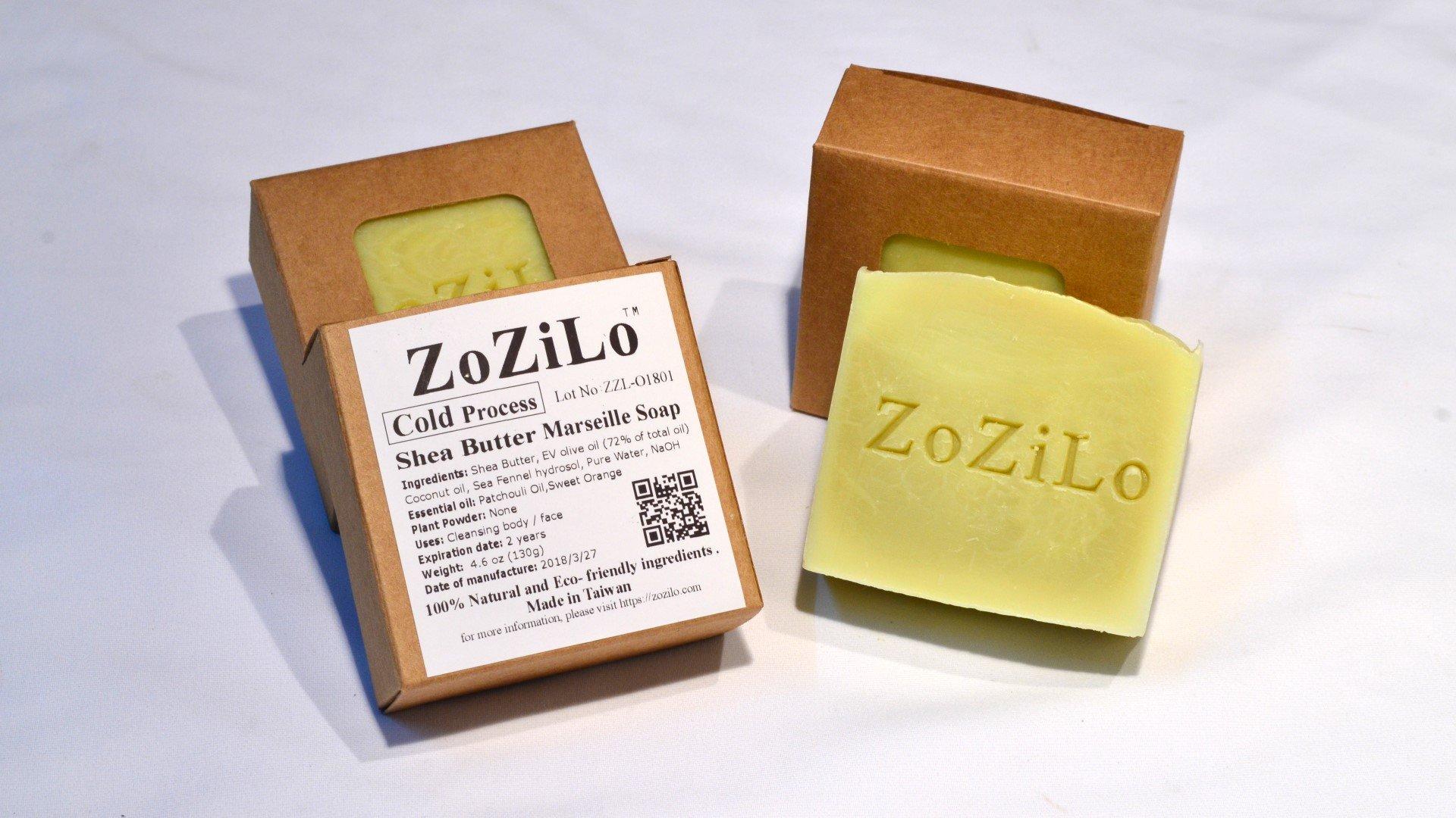 ZoZiLo Soap -Original-Shea Butter Soap - Olive Oil Soap