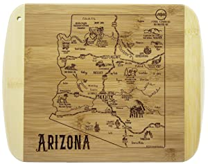 Totally Bamboo A Slice of Life Arizona Bamboo Serving and Cutting Board