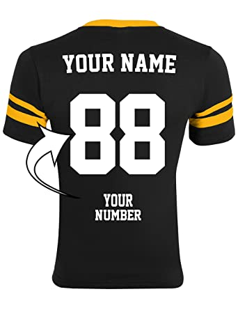 5c5a70dc Amazon.com: Custom Made Jerseys - Make Your OWN Jersey Shirts -  Personalized Team Uniforms: Clothing
