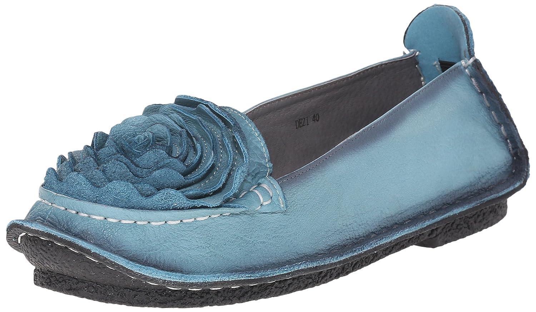L'Artiste by Spring Step Women's Dezi Flat B015R5ILW6 41 EU/9.5-10 M US|Blue