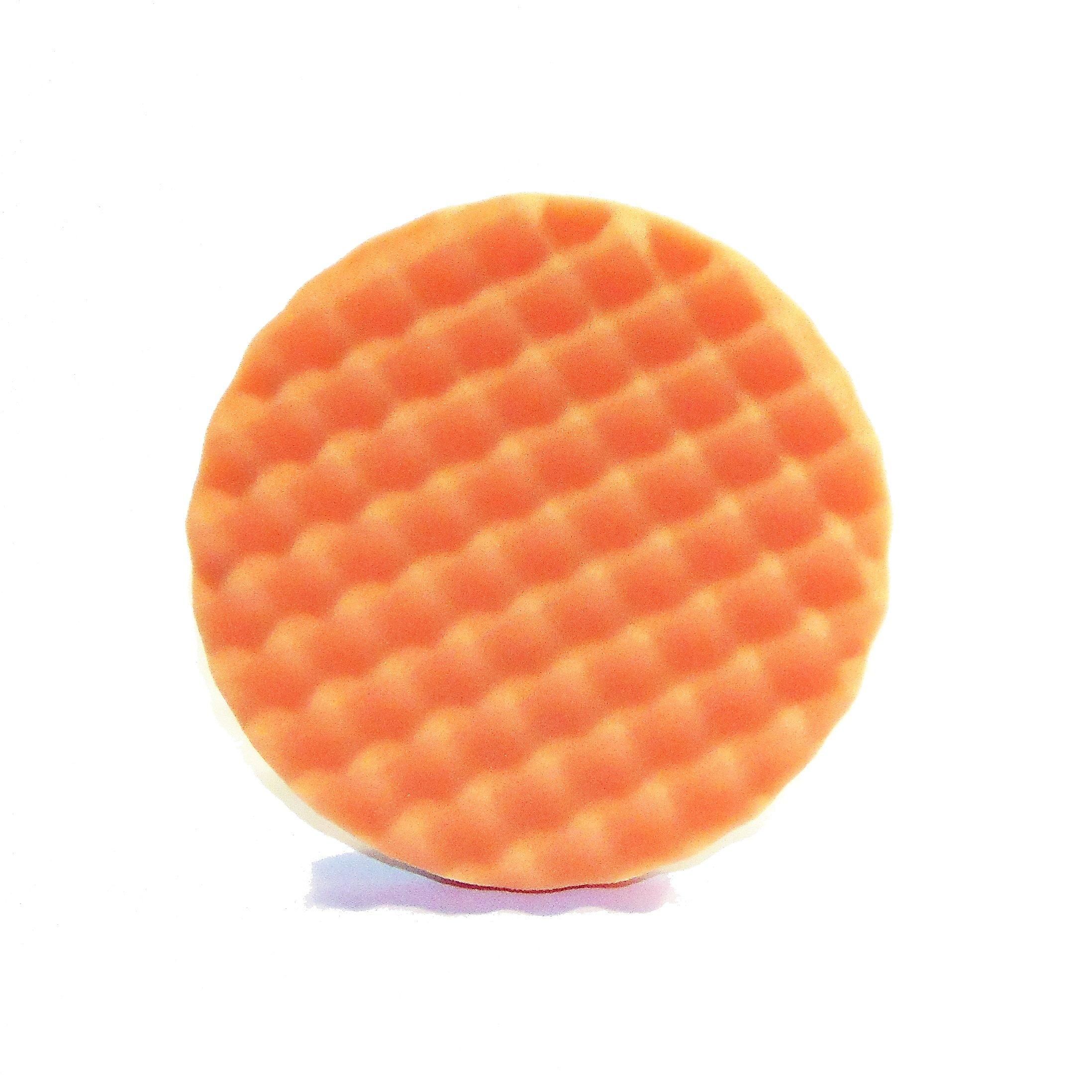 Optimum (22585) Waffle Foam Pad (Firmest Cutting), Orange, 3.25''