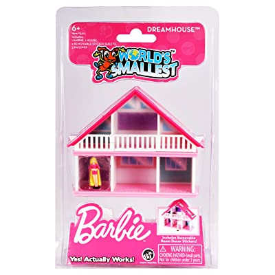 Worlds Smallest Barbie Dreamhouse, Multi (5011): Toys & Games