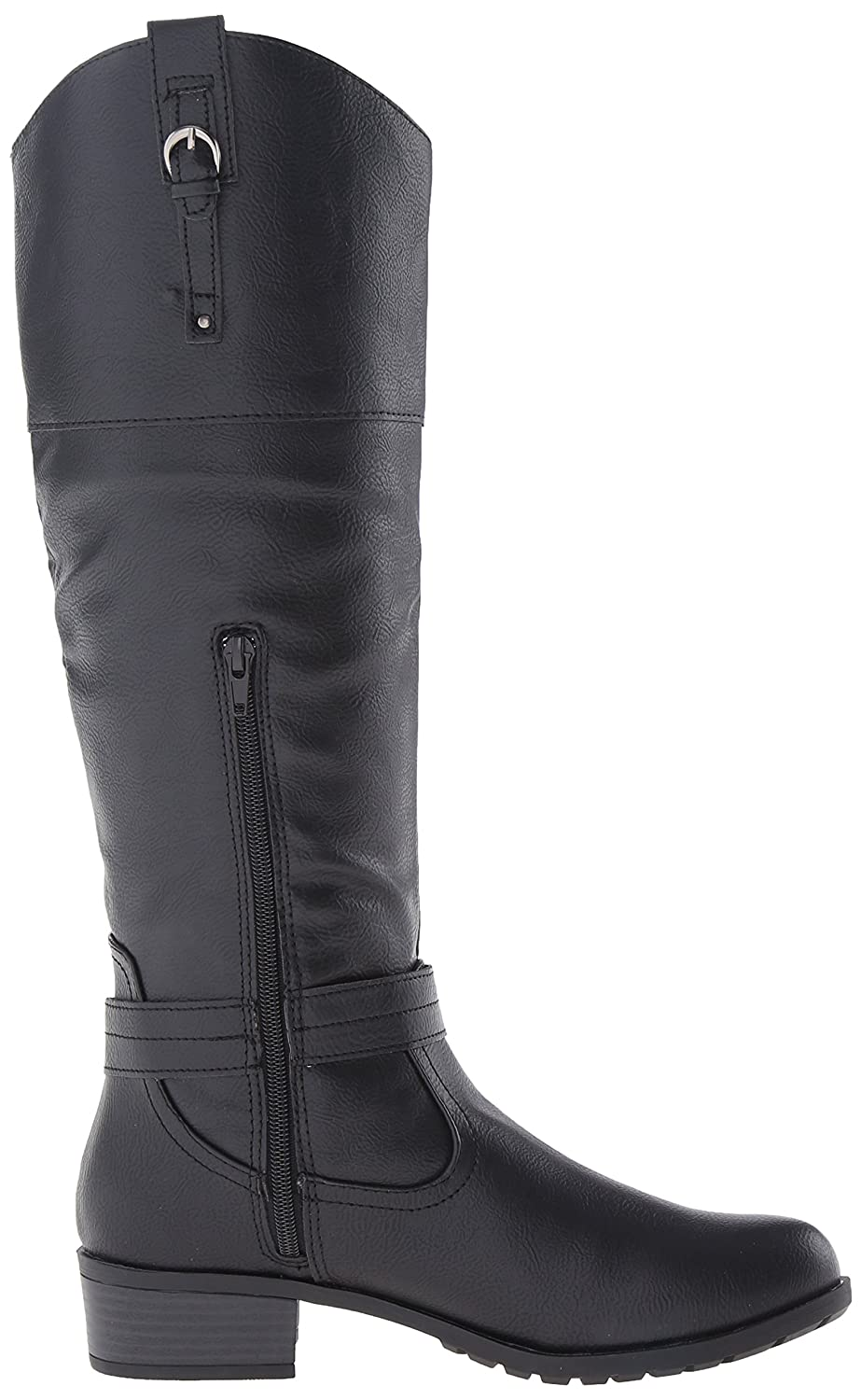 Rampage High Women's Ivelia Fashion Knee High Rampage Casual Riding Boot (Available In Wide Calf) B076HCHFN9 8.5 M US Wide Shaft|Black 3e96a7