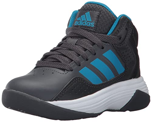 on sale 35f3a 038e2 ... ebay adidas neo boys cf ilation mid k basketball shoe grey five solar  blue 91ab4 87abe