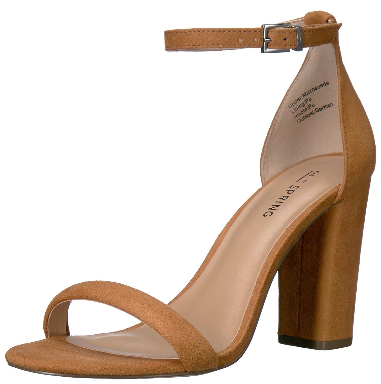 afdc768947d49 Call It Spring Women's Brelawien Dress Sandal, Light Brown, 7 B US ...