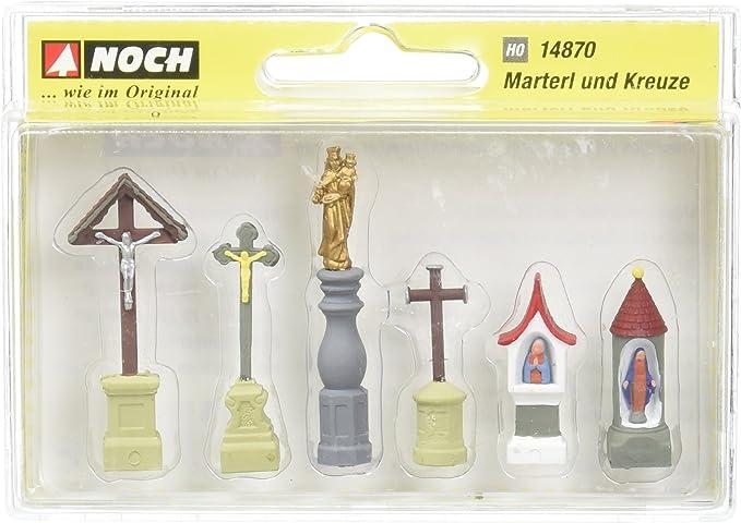 Amazon.com: Noch 14870 Christian Symbols H0 Scale Model Kit: Toys & Games