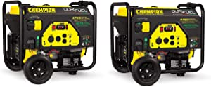 Champion 3800-Watt Dual Fuel RV Ready Portable Generator with Electric Start (Pack of 2)