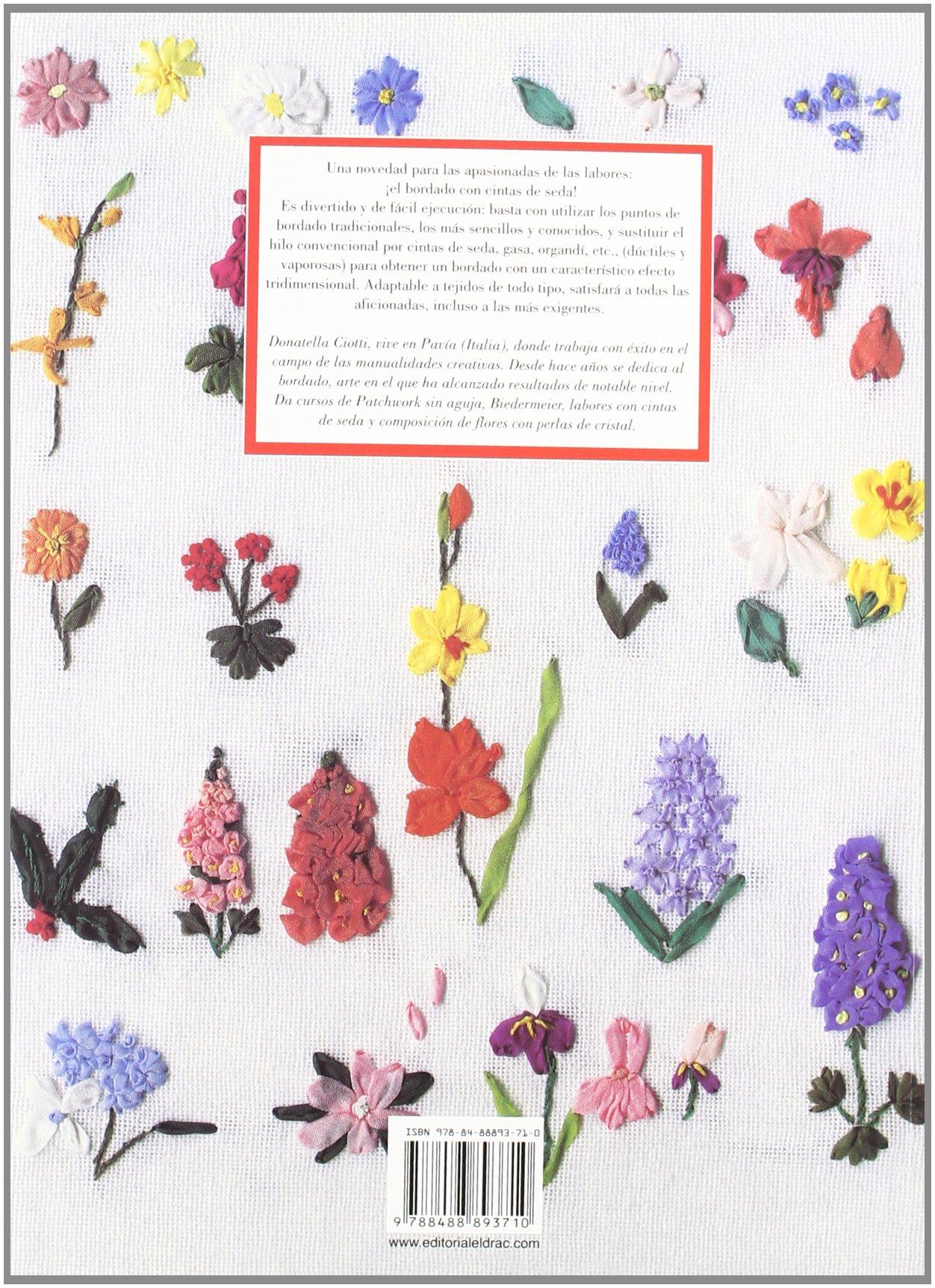 El libro de BORDAR CON CINTAS DE SEDA Labores drac: Amazon.es ...
