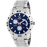 Fogg Analog Blue Chrono Dummy Dial Men's Watch 2002-BL