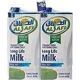 Al Safi Long Life Milk Full Fat 4 X 1 LT