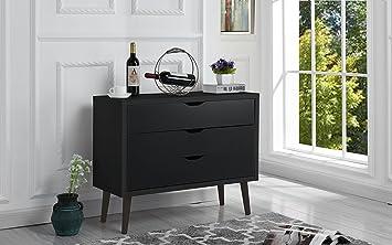 Amazon Com Mid Century Modern Dresser Chest Of Drawers Entryway