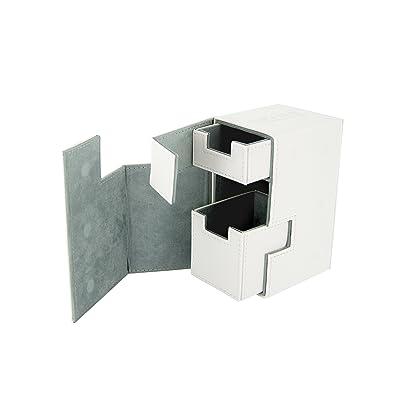 Ultimate Guard Flip 'n' Tray XenoSkin Deck Box, White: Toys & Games