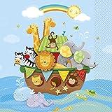 Noah's Ark Baby Shower Napkins, 16ct